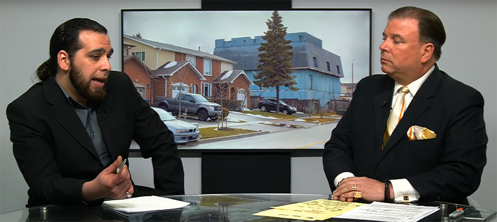 Ahmed Elbasiouni Interviewed on Brampton's Big Blue House One-Hour Broadcast